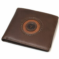 Men's Genuine Leather Credit Card Wallets ID Photo Holder Vintage Purse
