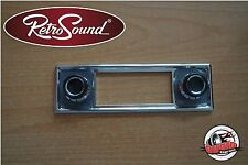 "RetroSound "" Becker "" frotblenden Set Oltimer for Model Two, Classic, Hermosa"