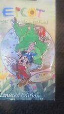 "WALT DISNEY WORLD-= EPCOT-""'FLOWER & GARDEN FESTIVAL""2009 SPINNING  STARS PIN"