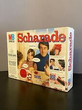 SCHARADE 1978   MB Spiele   Vintage Gesellschaftsspiel