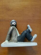Vintage Emmett Kelly Jr Hobo sitting on ground Flambro Porcelain Figurine