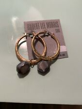 $38 Robert Lee Morris Circle Drop  Earrings A128
