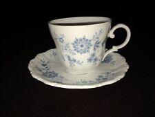 Seltmann Weiden Germany Christina Porcelain Bavarian Blue Cup and Saucer Set