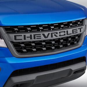 2015-2019 Colorado Grille Black Chevrolet Script