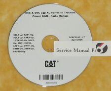 SEBP2243 Caterpillar D5C & D5C LGP XL Track Type Tractor Parts Manual Book CD