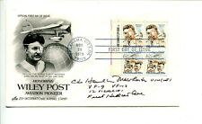 Hamilton McWhorter Navy 1st Hellcat War Ace WWII USN Signed Autograph FDC