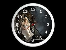 Game Of Thrones Daenerys Targaryen Wall Clock Can be Personalised
