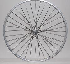 Laufrad 28 Zoll Alu Vorderrad - silber Kastenfelge NEU Rad Bike