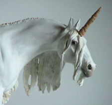 Traditional 1:9 Scale Unicorn Horn for Model Horses