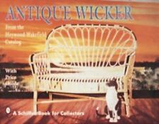 New Book - Antique Wicker From the Heywood-Wakefield Catalog - 925 examples