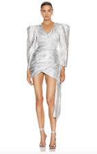 BNWT ATOIR SILVER THE LUNA DRESS - SIZE 6 AU/2 US (RRP $349.95)