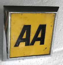Lightly Used British Automobile Association Car Badge