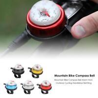 Mountainbike Radfahren Fahrrad Rennrad Glocke Klingeln Outdoor Außen mit Kompass