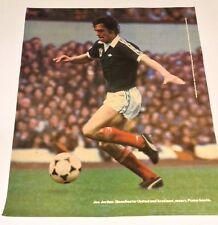 Joe Jordan Vintage Manchester United and Scotland Puma Promo Poster