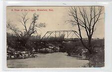 A VIEW OF THE LOGAN, WAKEFIELD: Nebraska USA postcard (C29021)