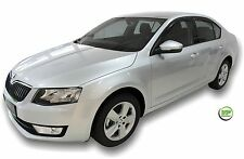 DSK28339 SKODA OCTAVIA mk3 hatchback 2012-up WIND DEFLECTORS  4pc HEKO TINTED