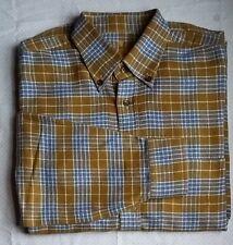 VAN LAACK chemise royal manches longues KW42 (Taille L) braunblau à carreaux