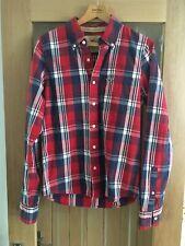 Hollister Men's Shirt Check Long Sleeve Shirt Medium