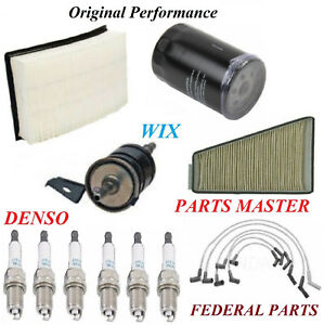 Tune Up Kit Filters Wire Spark Plug For FORD TAURUS V6 3.0L OHV 2001