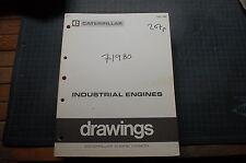 CATERPILLAR 1980 Engine Installation Drawing Manual service repair generator oem
