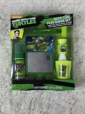 Teenage Mutant Ninja Turtles Bath Time Play Shave Set Pretend Shaving Bath Foam