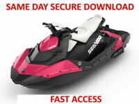 2014 Sea-Doo SPARK Service Manual - FAST ACCESS