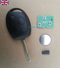 Ford Mondeo Focus Transit Connect 3 Buttons 433Mhz 4d60 Chip Remote Key Fob Case