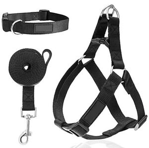 Easy Step-In Dog Harness Leash 3 in 1 Front Clip Stops Puppy Pet Lead Collar