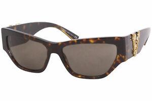 Versace VE4383 944/3 Sunglasses Women's Havana/Gold/Brown Lenses Cat Eye 56mm