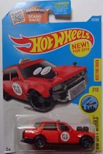 2016 Hot Wheels HW CITY WORKS 7/10 Time Attaxi 172/250 (Red Version)
