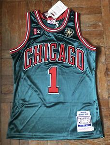 Derrick Rose Chicago Bulls 2008-09 Go Green Rookie Authentic Jersey