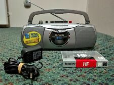 Vintage Aiwa CS-P55W Mini Boombox Ghetto Blaster (Fully-Functional Bundle Deal)