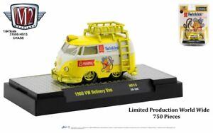 """Chase 1960 VOLKSWAGEN VAN W/LADDER & ROOF RACK """"TWINKIES"""" 1/64 M2 31500-HS13"""
