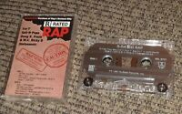 Uncensored Versions of Rap's Hottest Hits - R Rated Rap - Cassette Tape (Ice-T)