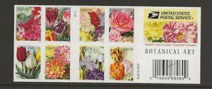2014 Forever Botanical Art full Booklet of 20 Scott #5051c, Mint NH