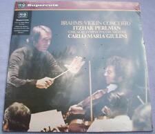 ASD 3385 Audiophile Reissue BRAHMS Violin Concerto PERLMAN Giulini Hi-Q SEALED