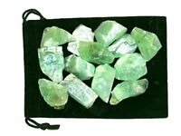 1/2 lb Lot Bulk Rough Green Calcite Natural Raw Stone Zentron Crystals