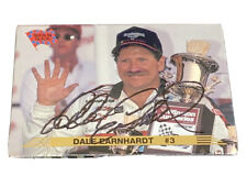 1993 Action Packed Dale Earnhardt Sr. #126 signed card #3 nascar AUTHENTIC REAL!