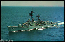 USS Hull DD-945 postcard US Navy Destroyer (card#2)