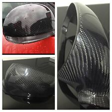 Carbon Fibre Golf MK5 MKV wing mirror full replacement GTI R32 TDI ED30 Cover VW