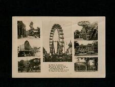 Austria 1950s Amusement Park Photo Postcard w/stamp but not sent through mails