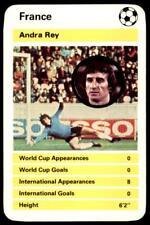 Top Trumps International Greats 1978 - Andre Rey France