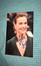 Carole Bouquet Photo Dedicace Autograph