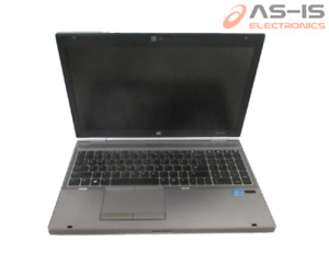 "*AS-IS* HP Elitebook 8570P 15.6"" i7-3520M 2.90GHz 8GB 320GB HDD DVD+RW (H96)"