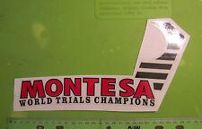 Montesa Cota 348 349 51m Nos World Ensayos Pegatina P/N 51.20.448 Or 5120.448