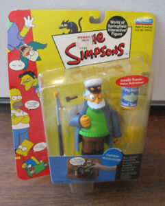 Playmates Toys Captain McCallister The Simpsons Series 5 World Of Springfield...