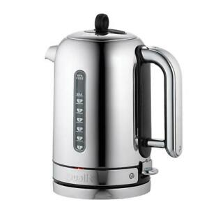 Dualit Cordless Classic Kettle With 360° Swivel Base 1.7L 2.3kw Polished