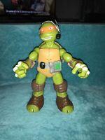 """Tmnt Teenage Mutant Ninja Turtles Large Talking Figure Viacom 2014 10"""""""
