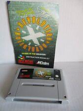 Super Nintendo SNES Revolution X + Anleitung