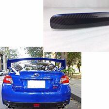 Carbon + K7X blue For 15-17 Subaru sti WRX Rear Trunk Lid Garnish Trim Cover